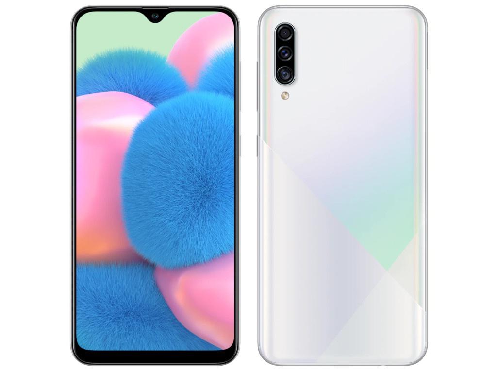 Сотовый телефон Samsung SM-A307F Galaxy A30s 4Gb/64Gb White Выгодный набор + серт. 200Р!!!