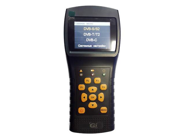 Прибор для настройки эфирных, спутниковых антенн и кабельного ТВ Galaxy Innovations GI ComboF