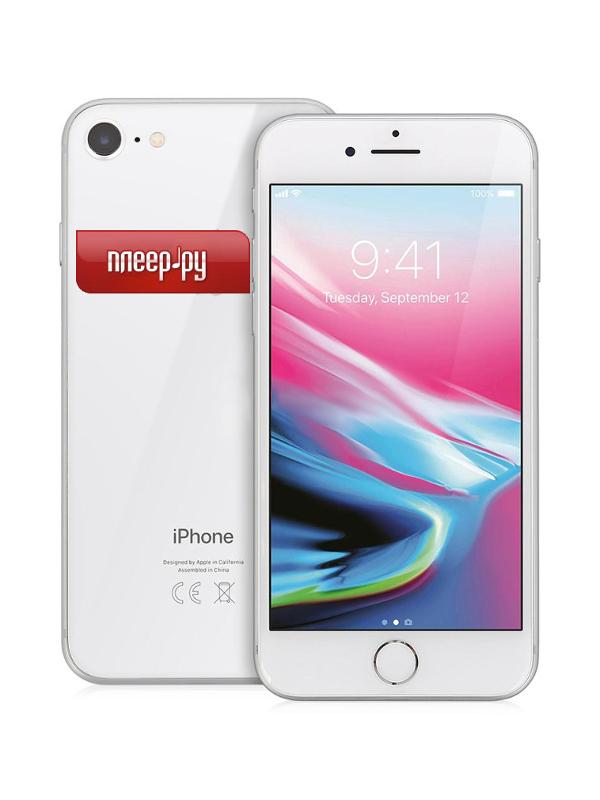 Сотовый телефон APPLE iPhone 8 - 128Gb Silver MX172RU/A a 8