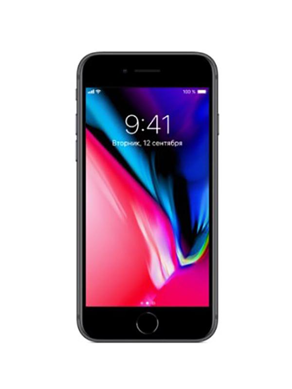 Сотовый телефон APPLE iPhone 8 - 128Gb Space Grey MX162RU/A сотовый телефон turbo x5 space
