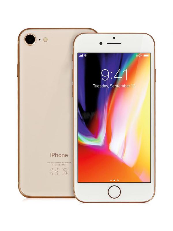 Сотовый телефон APPLE iPhone 8 - 128Gb Gold MX182RU/A цена и фото