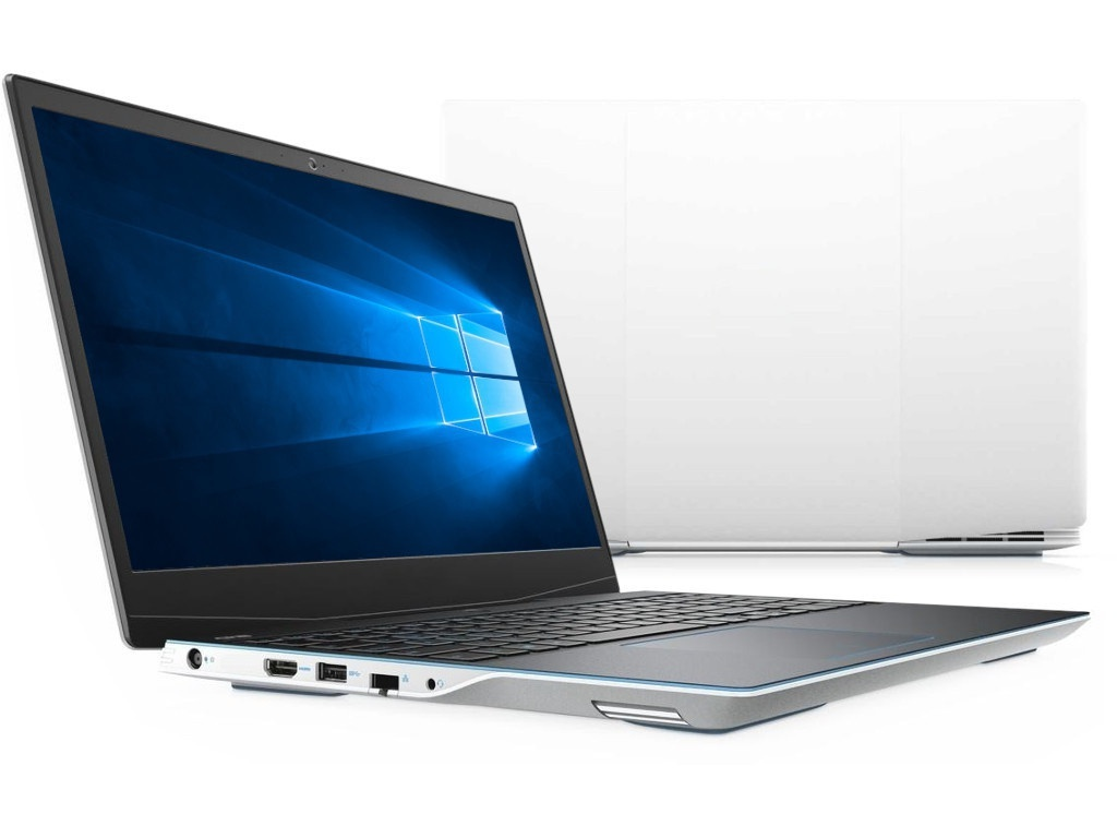 Ноутбук Dell G3 3590 White G315-3219 (Intel Core i5-9300H 2.4 GHz/8192Mb/1000Gb + 256Gb SSD/nVidia GeForce GTX 1050 3072Mb/Wi-Fi/Bluetooth/Cam/15.6/1920x1080/Windows 10 64-bit)