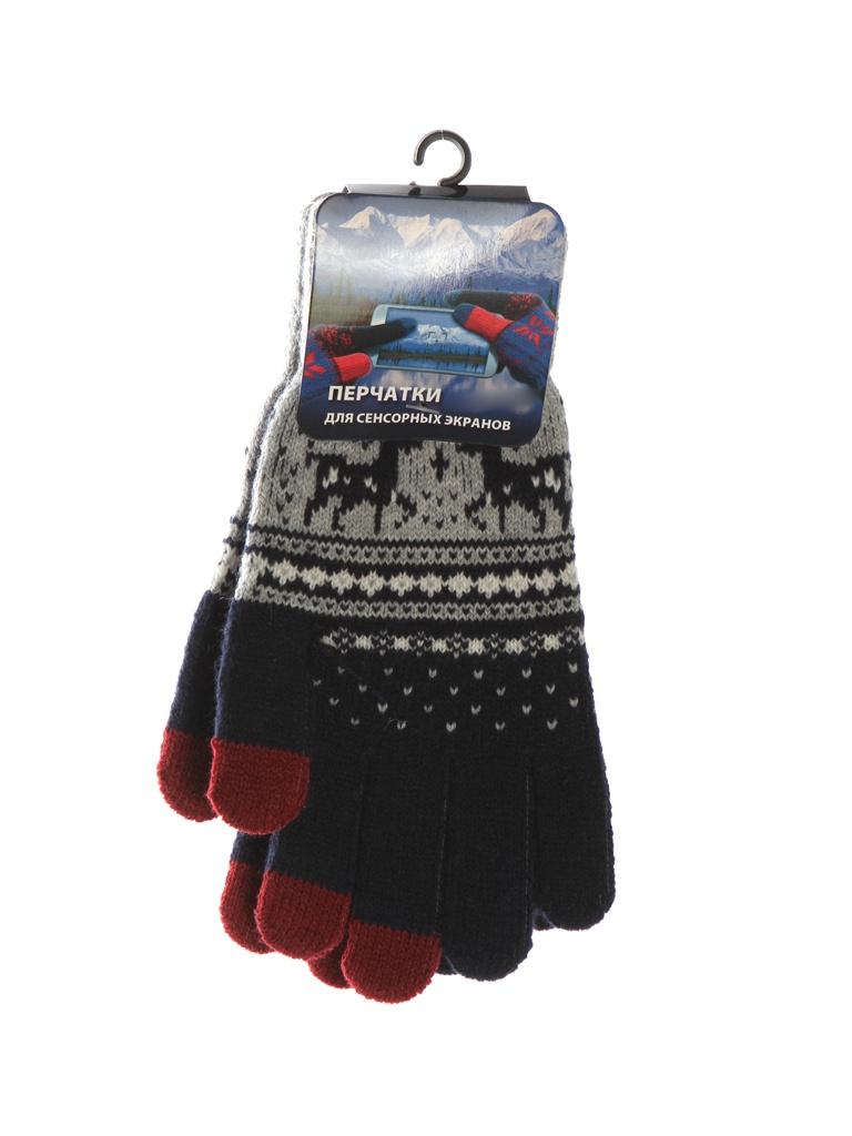 Теплые перчатки для сенсорных дисплеев Territory р.UNI 0915