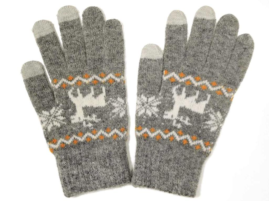 Теплые перчатки для сенсорных дисплеев Territory р.UNI 0914