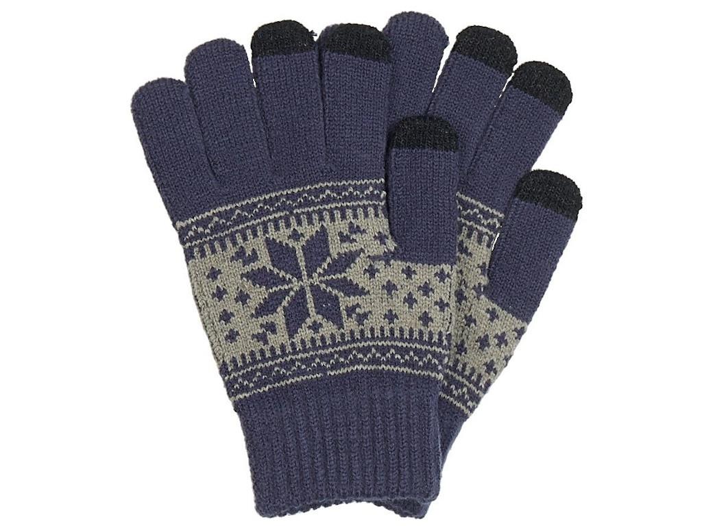 Теплые перчатки для сенсорных дисплеев Territory р.UNI 0714