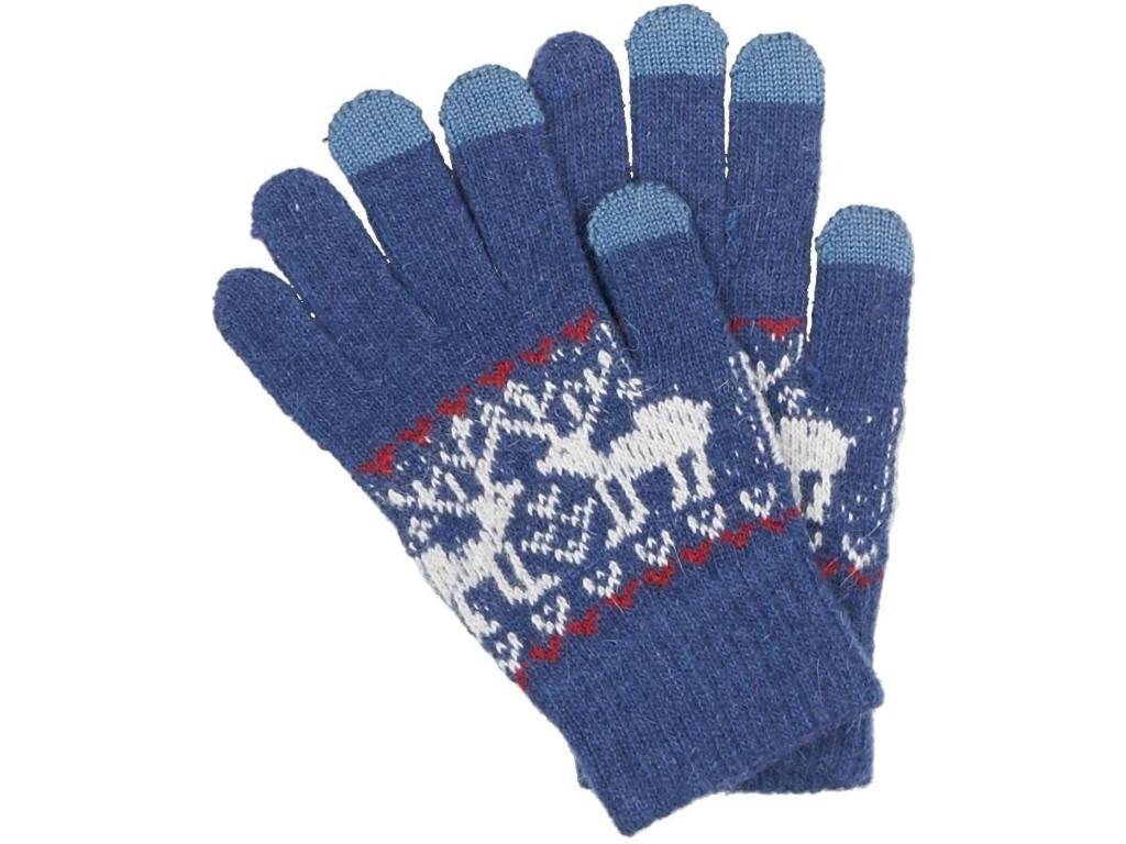 Теплые перчатки для сенсорных дисплеев Territory р.UNI 0614