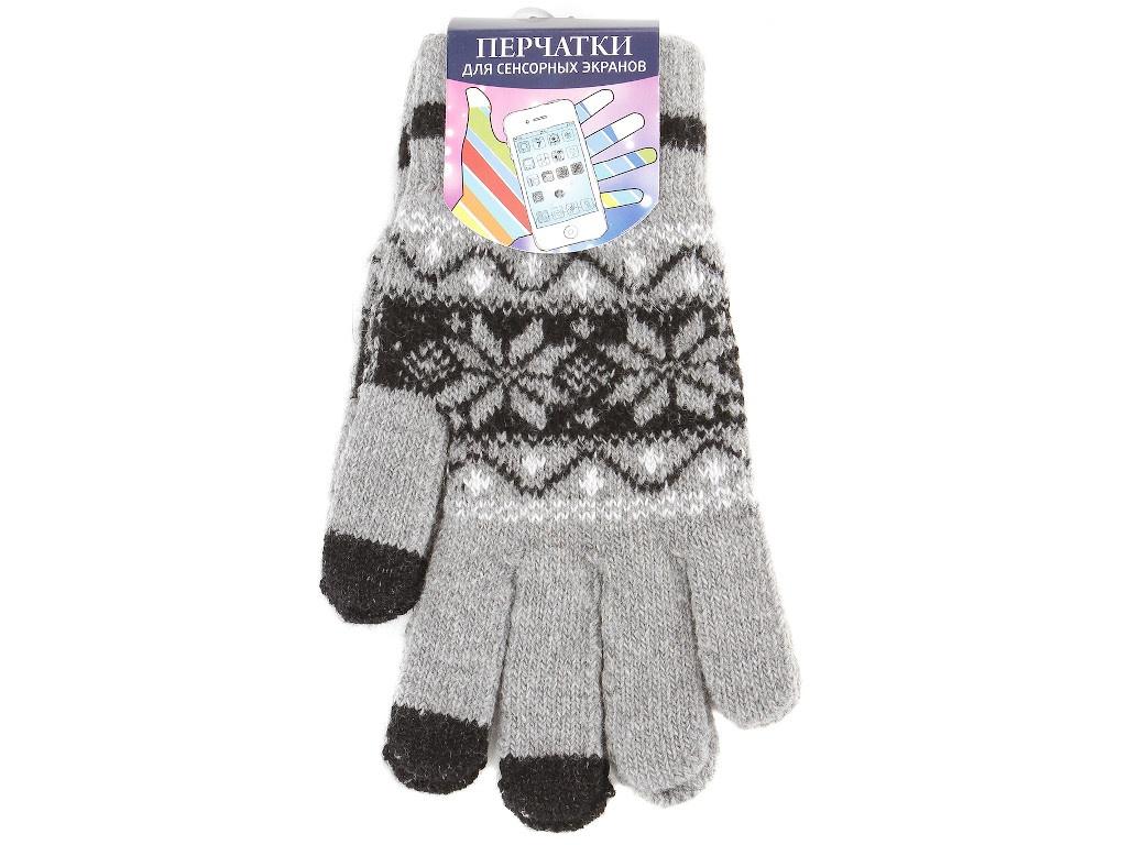 Теплые перчатки для сенсорных дисплеев Territory р.UNI 0515