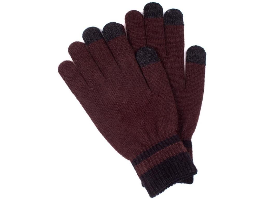 Теплые перчатки для сенсорных дисплеев Territory 0818 Brown