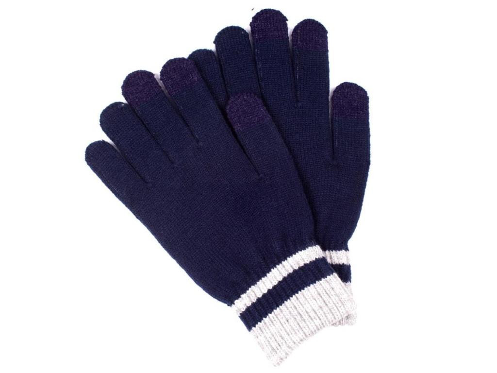 Теплые перчатки для сенсорных дисплеев Territory 0118 Blue