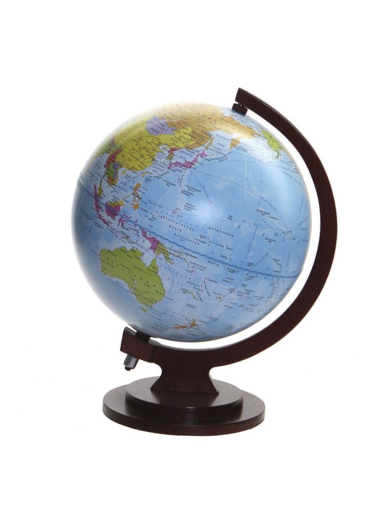 Глобус Глобусный Мир VR Политический 250mm с подстветкой и батарейкой 17018