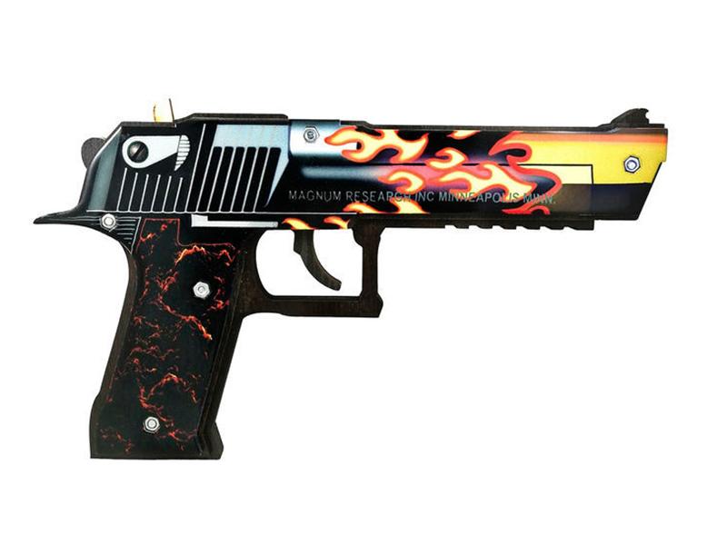 Пистолет Maskbro Desert Eagle Пламя CS:CO 56574