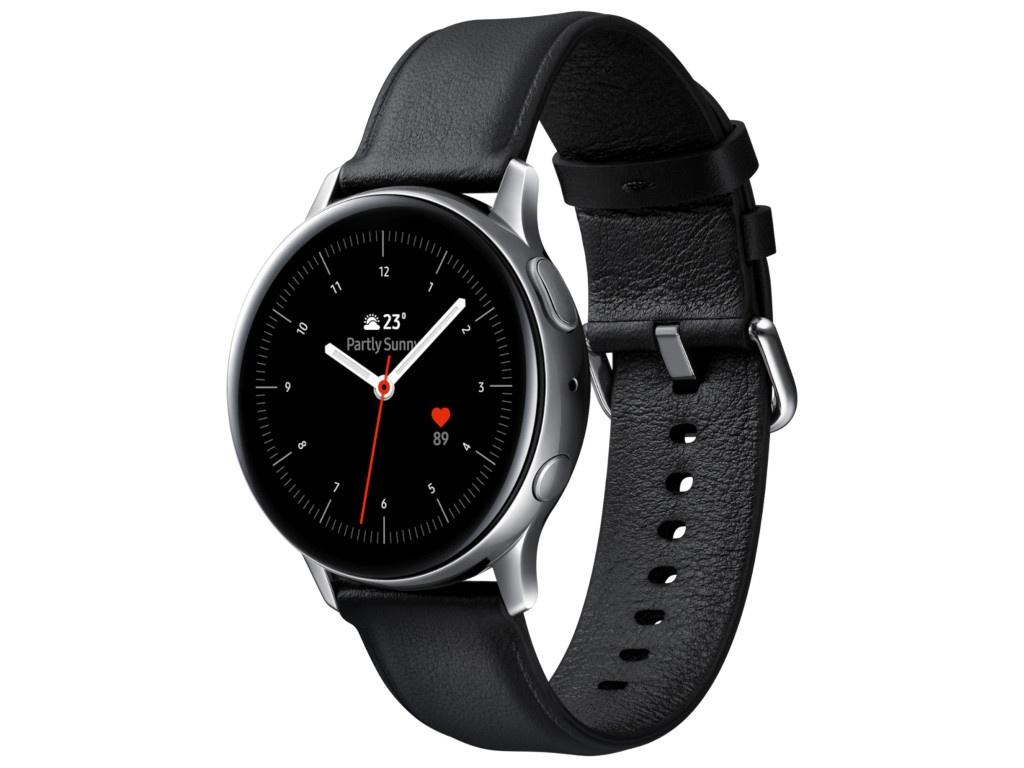 Умные часы Samsung Galaxy Watch Active 2 40mm Steel-Black SM-R830NSSASER