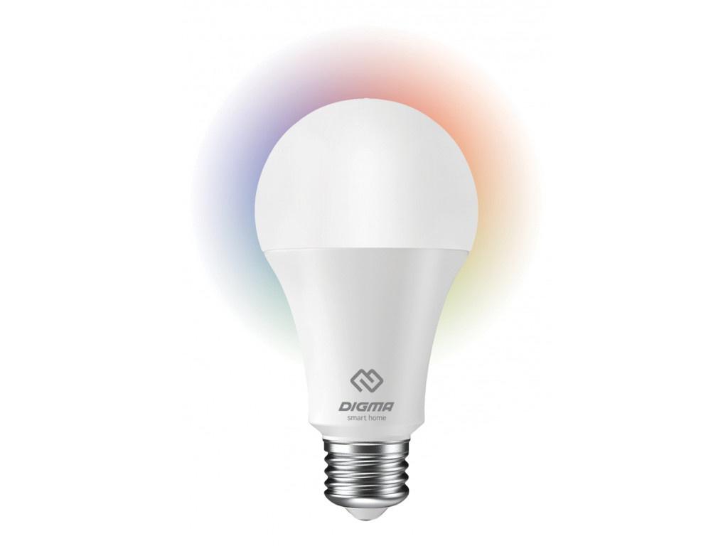Лампочка Digma DiLight N1 RGB E27 8W 110-250V 4000K 850Lm 1118521