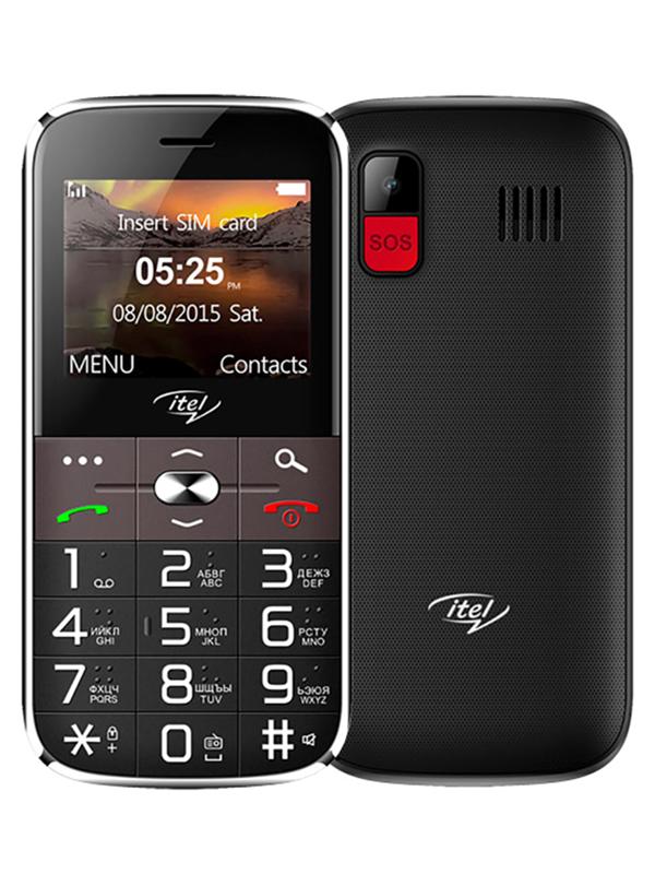 Сотовый телефон itel IT2590 DS Black ITL-IT2590-BK