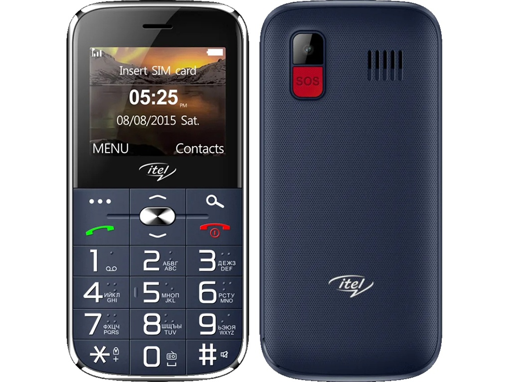 Сотовый телефон itel IT2590 DS Deep Blue ITL-IT2590-DEBL