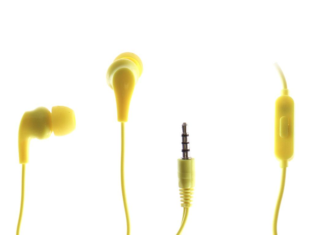 Наушники Perfeo Alpha Yellow PF_A4933 — Alpha