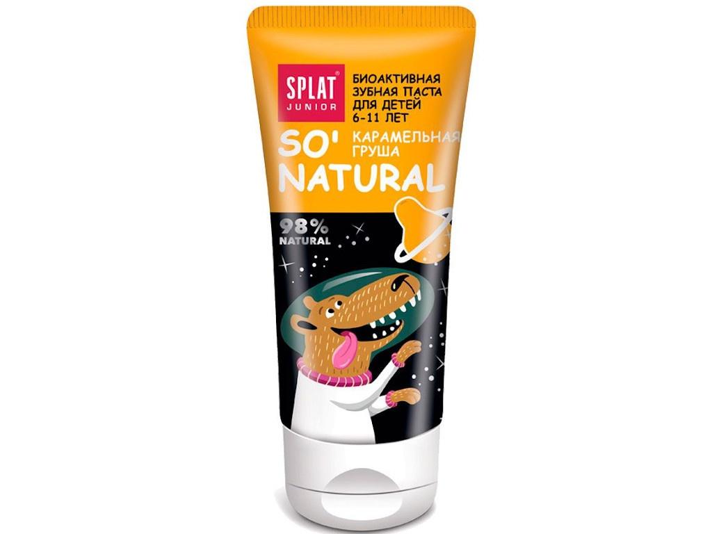 Зубная паста Splat Junior от 6 до 11 лет Карамельная груша 73g 1007-02-02