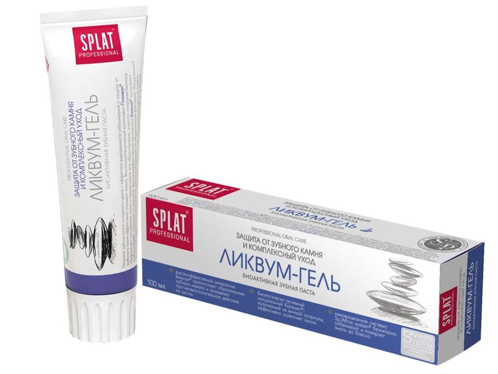Зубная паста Splat Professional Ликвум-гель 100ml ЛГ-119/LG-119-E