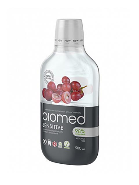 Ополаскиватель для полости рта Biomed Sensitive 500ml 109.03010.0101 цена
