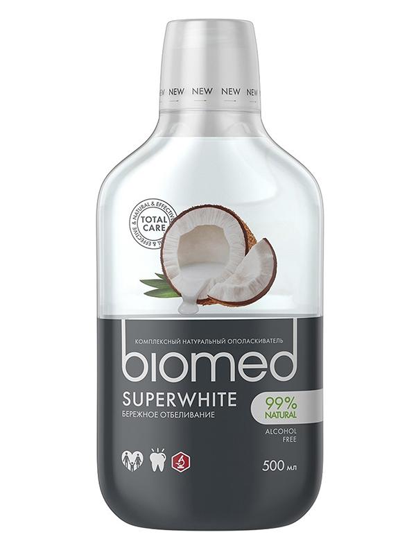 Ополаскиватель для полости рта Biomed Superwhite 500ml 109.03018.0101
