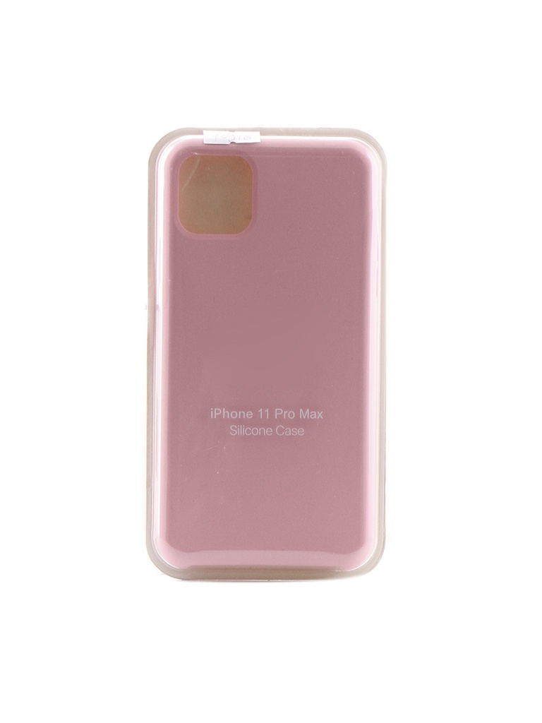 Аксессуар Чехол Krutoff для APPLE iPhone 11 Pro Max Silicone Case Pink 10918