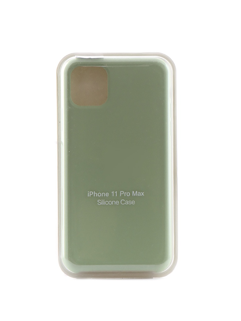 Чехол Krutoff для APPLE iPhone 11 Pro Max Silicone Case Mint 10917