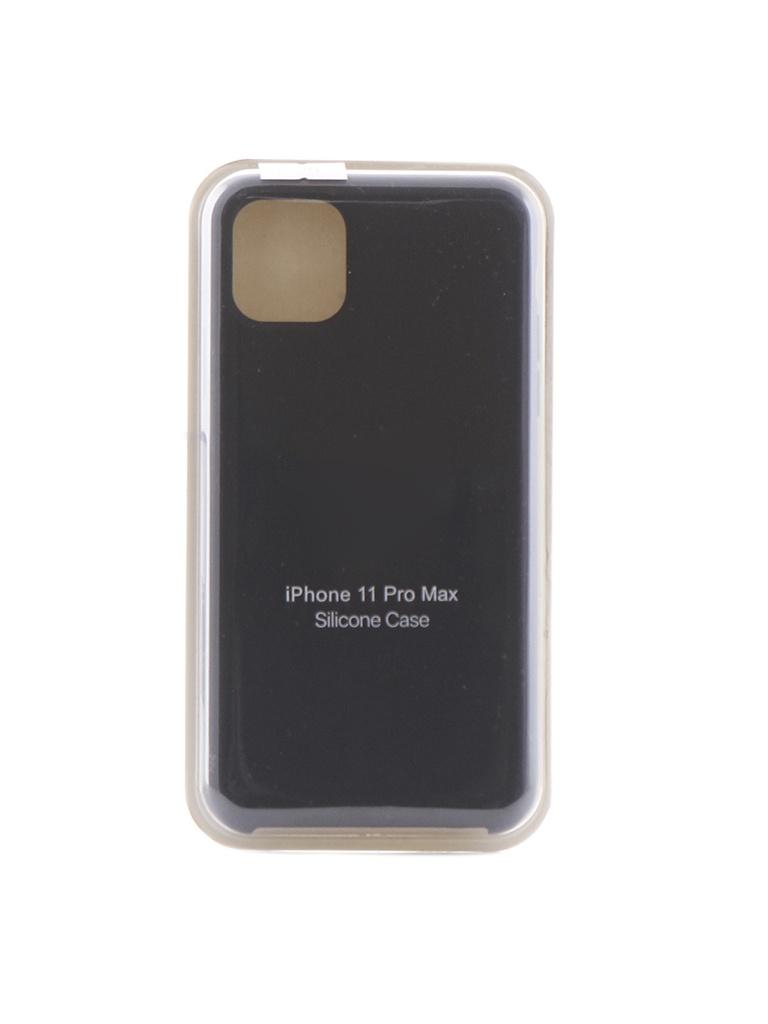 Аксессуар Чехол Krutoff для APPLE iPhone 11 Pro Max Silicone Case Midnight Blue 10916
