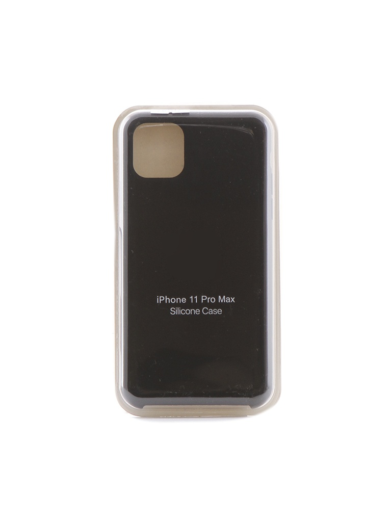 Чехол Krutoff для APPLE iPhone 11 Pro Max Silicone Case Black 10913