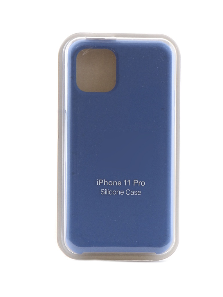 Чехол Krutoff для APPLE iPhone 11 Pro Silicone Case Royal Blue 10911