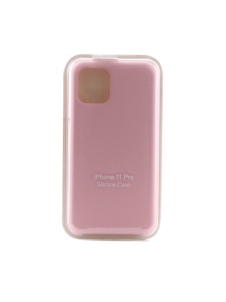 Чехол Krutoff для APPLE iPhone 11 Pro Silicone Case Pink 10909