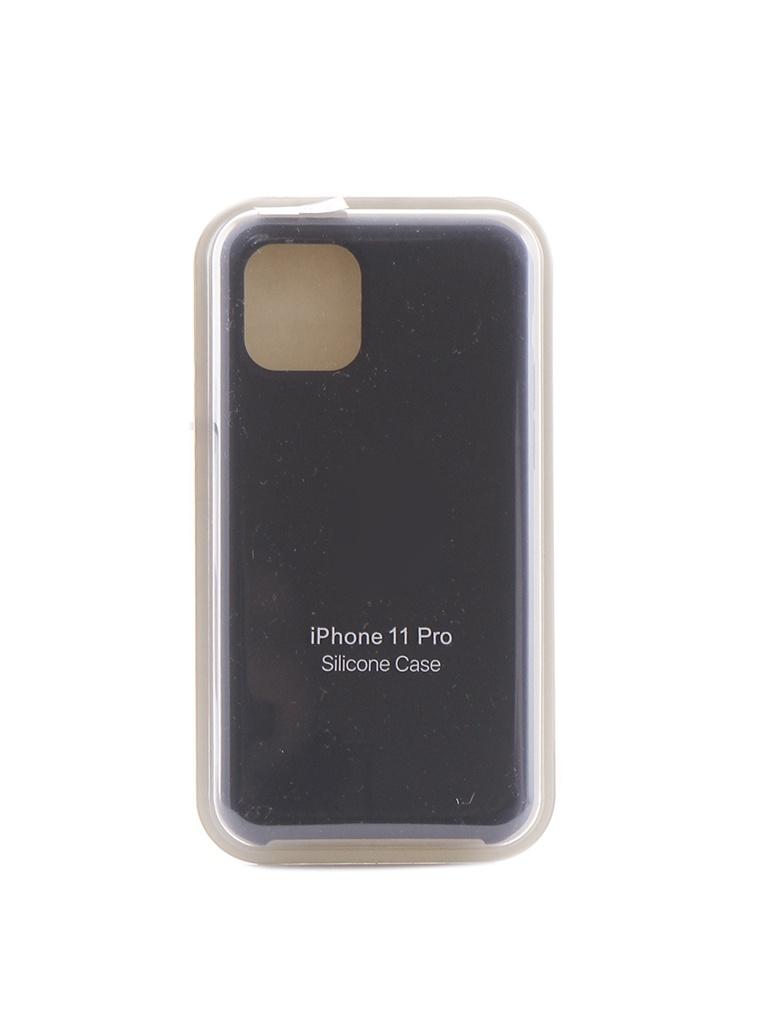 Чехол Krutoff для APPLE iPhone 11 Pro Silicone Case Midnight Blue 10907 фото