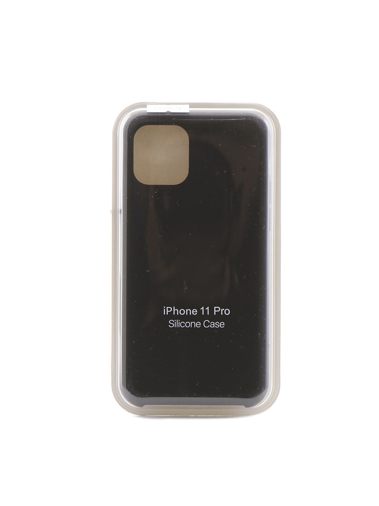 Чехол Krutoff для APPLE iPhone 11 Pro Silicone Case Black 10904
