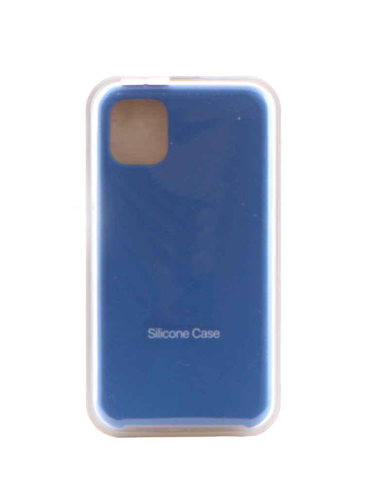 Чехол Krutoff для APPLE iPhone 11 Silicone Case Royal Blue 10902