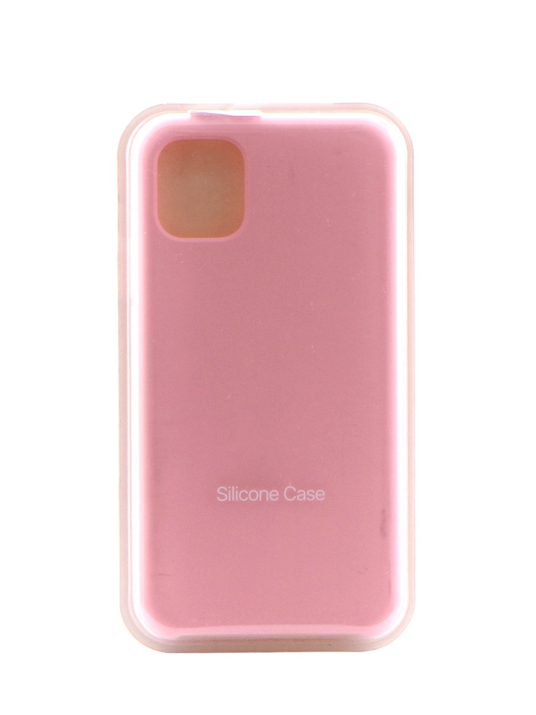 Чехол Krutoff для APPLE iPhone 11 Silicone Case Pink 10900