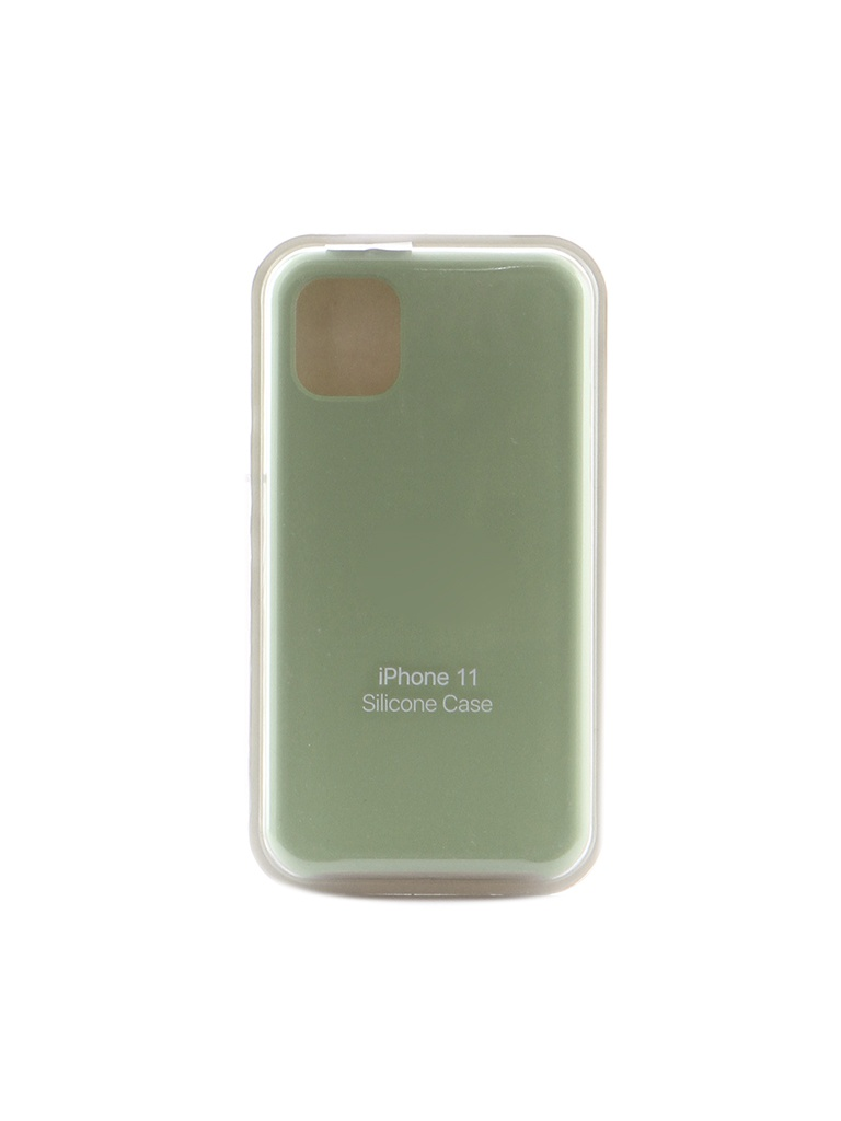 Чехол Krutoff для APPLE iPhone 11 Silicone Case Mint 10899
