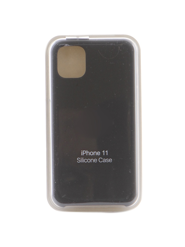 Чехол Krutoff для APPLE iPhone 11 Silicone Case Charcoal Gray 10896