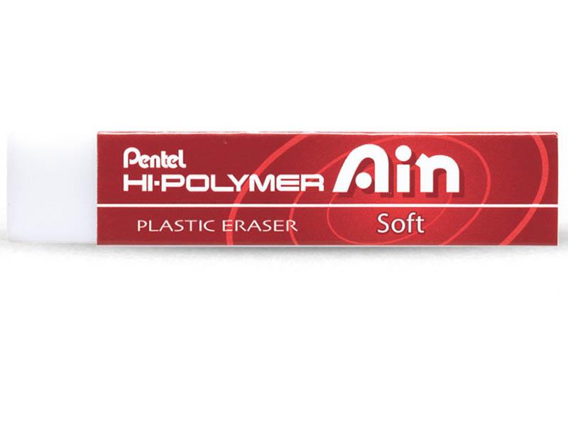 Ластик Pentel Hi-Polymer Eraser Ain Soft ZETS07