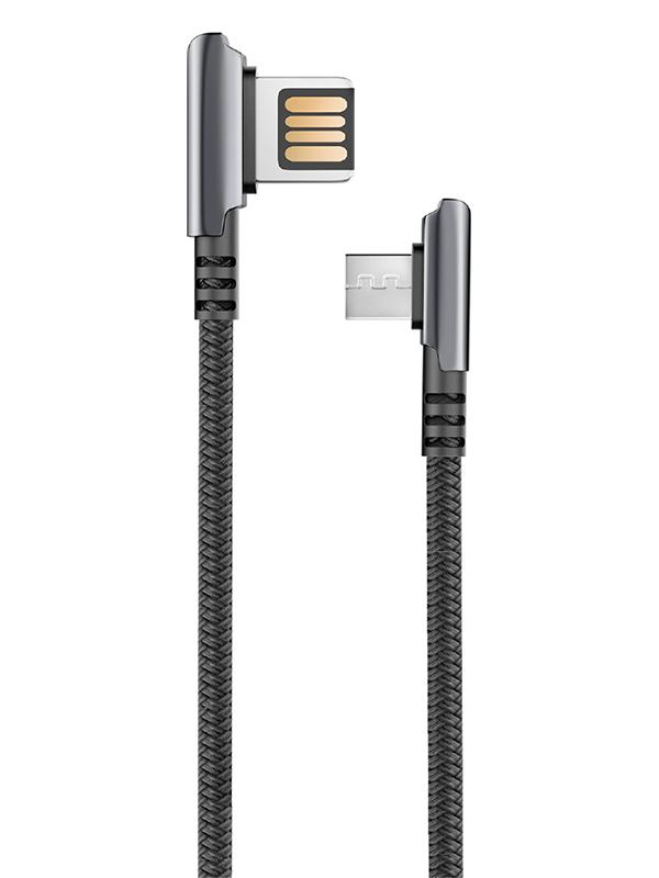 Аксессуар Olmio Handy USB 2.0 - MicroUSB 1.2m 2.1A 039481