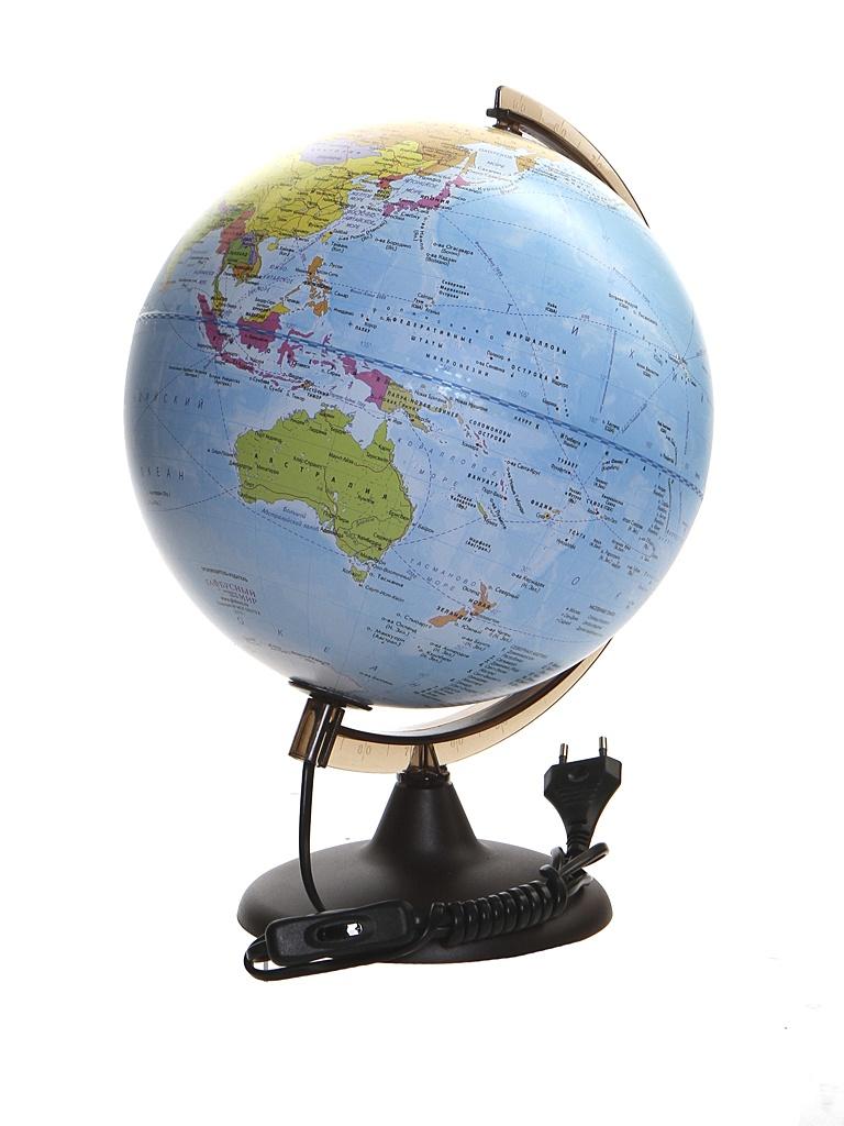 Глобус Глобусный Мир VR Политический 250mm с подсветкой 17005 глобус глобусный мир 10406 с физической картой мира с подставкой синий диаметр 64 см