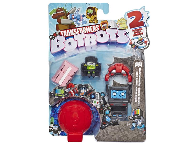 Игрушка Hasbro Игровой набор 5 трансформеров Ботботс E3486EU4