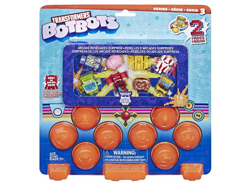 Игрушка Hasbro Игровой набор 16 трансформеров Ботботс E5362EU4