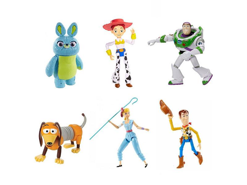 Фигурки персонажей Mattel Toy Story 4 История игрушек-4 GDP65 ()