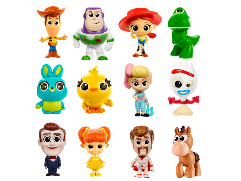 Мини-фигурки Mattel Toy Story 4 История игрушек-4 новые персонажи GHL54