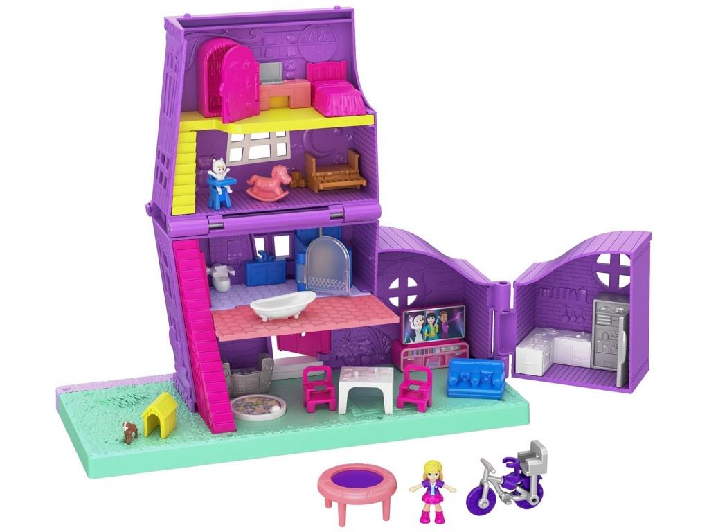 Игровой набор Mattel Polly Pocket Дом Полли GFP42