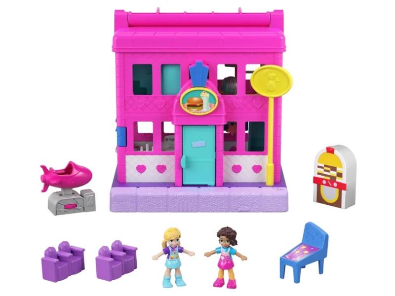 Игровой набор Mattel Polly Pocket Полливиль станции GGC29