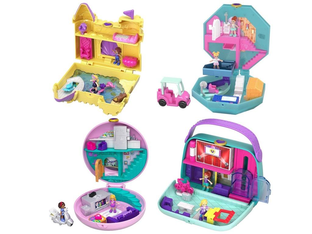 Игровой набор Mattel Polly Pocket Мир Полли FRY35 ()