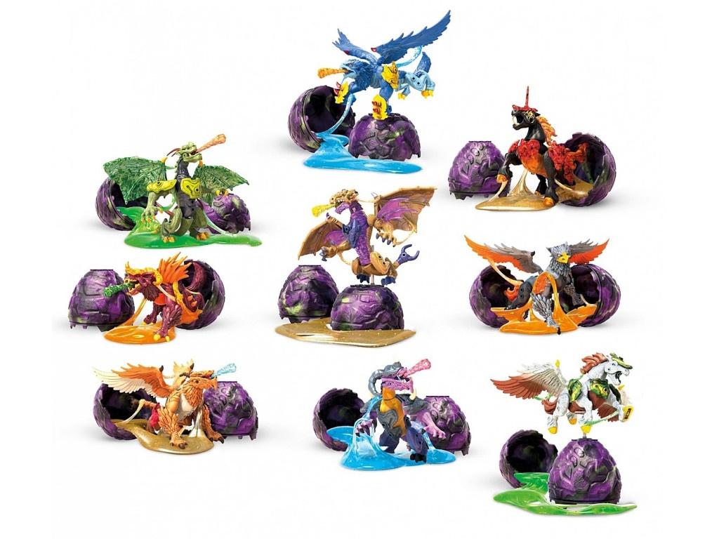 Конструктор Mattel Удивительные звери в яйце GCK31 ()