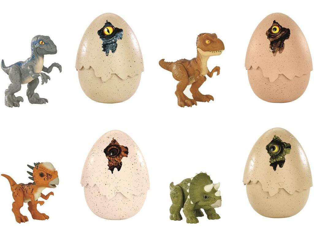 Игрушка Mattel Jurassic World Динозавры в яйцах FMB91 ()