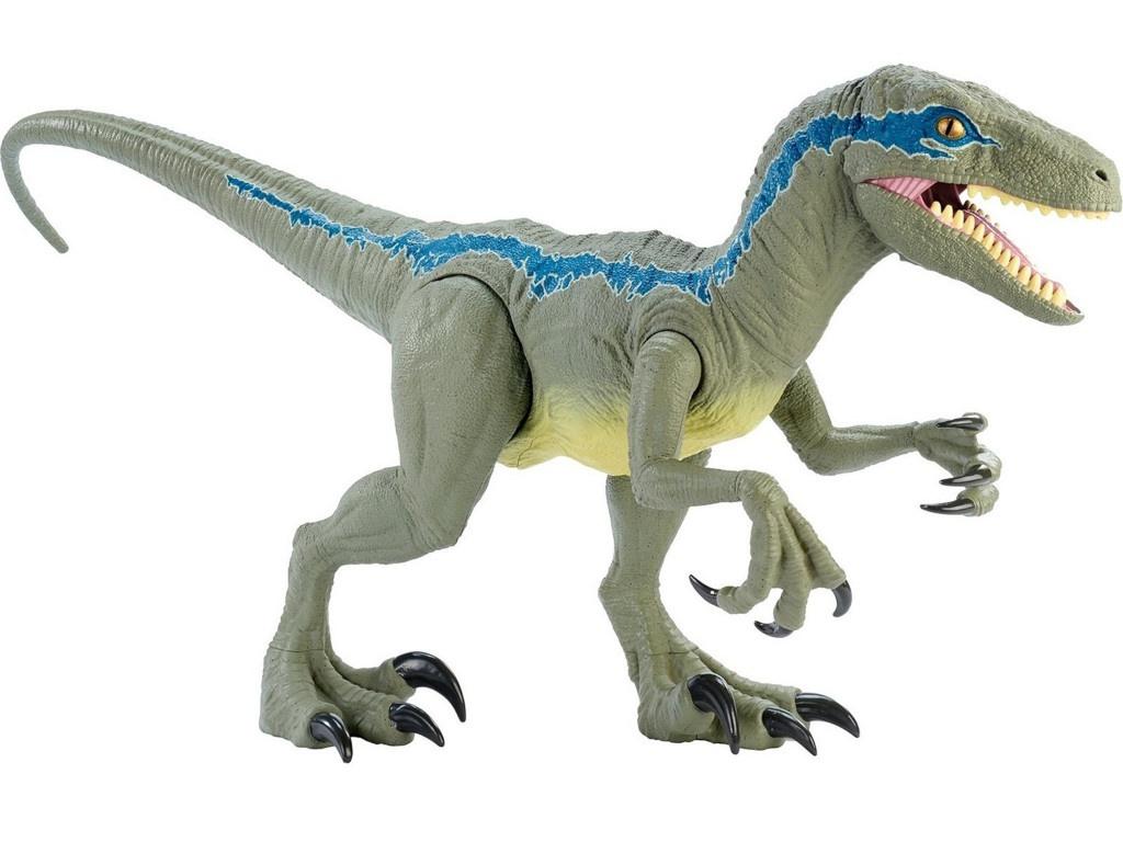 Игрушка Mattel Jurassic World Колоссальный велоцираптор Блю GCT93