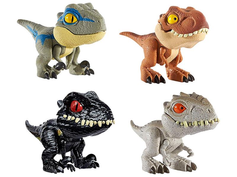 Фигурка Mattel Jurassic World Цепляющиеся мини-динозаврик GGN26 ()